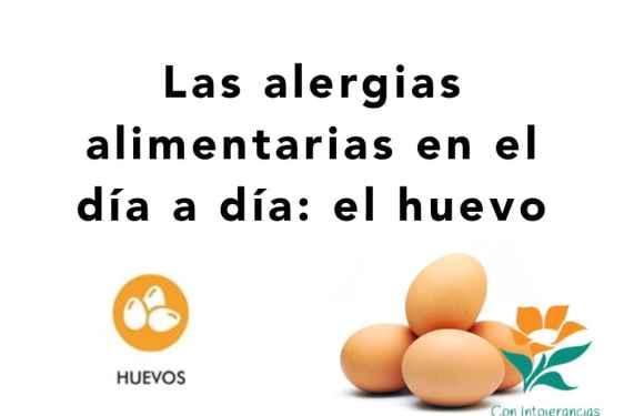 Alergias alimentarias en el día a día: el huevo