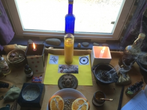 A Closer Look, Photos, Spell for Conjure Coaching Patron, Helios Oil