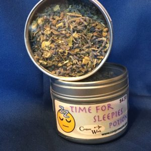 Time For Sleepies Potion, in Potions, Conjure Shop, conjurework.com herbal teas