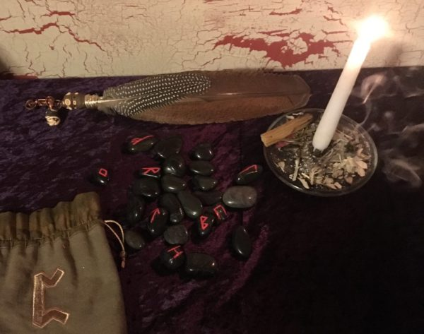 Rune Reading, Elder Futhark, divination by runes at Conjure Work, Pagan, witchcraft, Wicca supplies and services