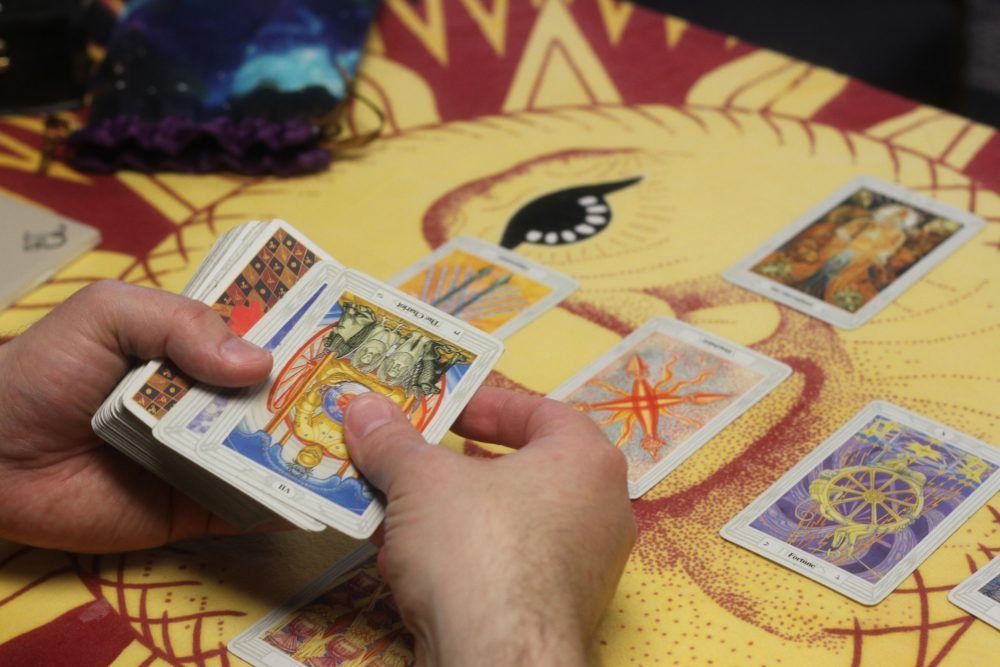 Tarot Reading with Magus, cards, Trumps Major, Minor Arcana at Conjure Work