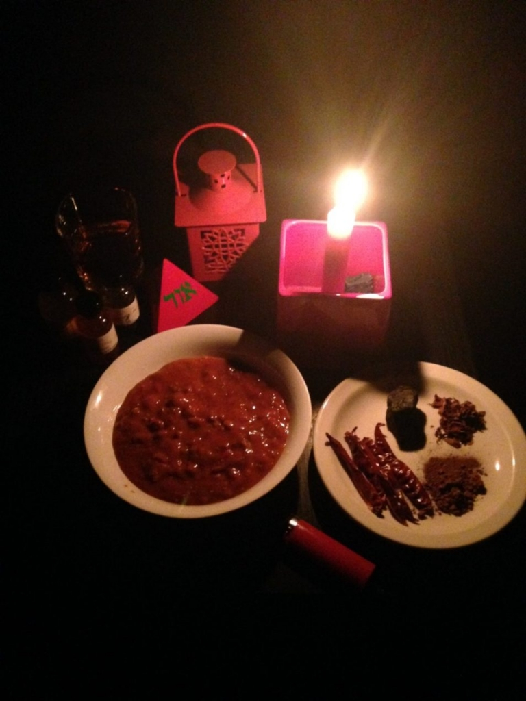 A Mars offering, light setting service at Conjure Work
