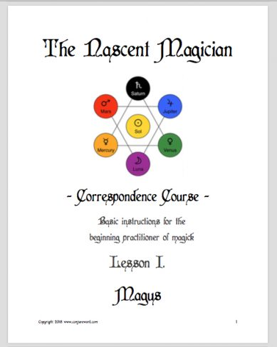 The Nascent Magician, magick course, by Magus (Kevin Trent Boswell)