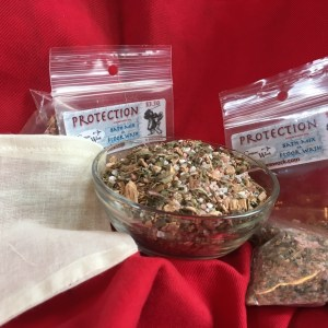 Protection Bath Mix at Conjure Work, sorcery supplies and services by (Kevin Trent Boswell)