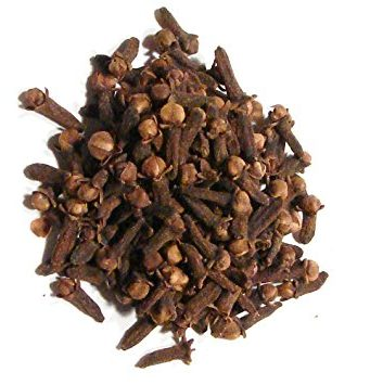 Clove, whole and powder, Syzygium aromaticum, conjurework.com sorcery services and supplies by Kevin Trent Boswell