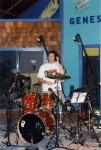 Brett Warress, drummer on Flagship by Trent Boswell, Conjure Shop