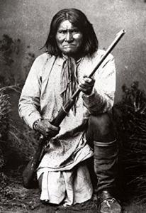 Geronimo, a famous Apache warrior
