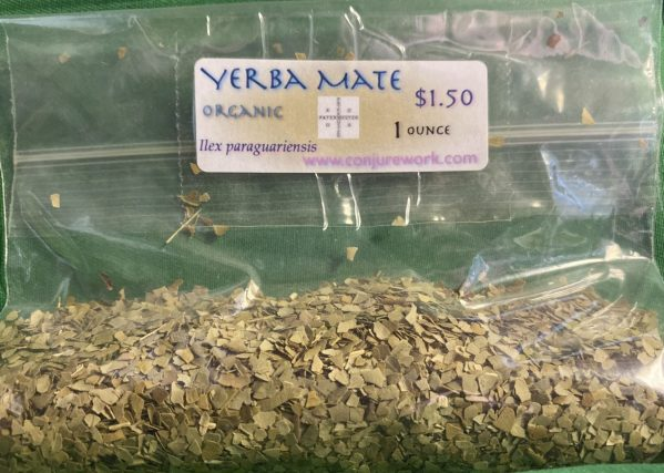 Yerba Mate, Ilex paraguariensis, sorcery, Conjure Work, herbs, magick, Golden Dawn, Solomonic, Wicca, astrology