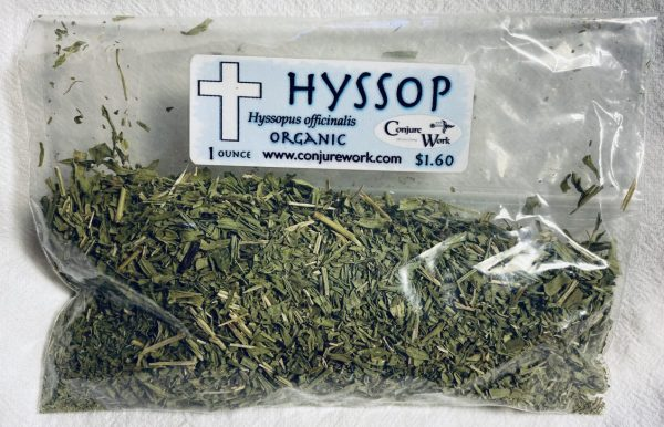 Hyssop, Hyssopus officinalis, sorcery, Conjure Work, herbs, magick, Golden Dawn, Solomonic, Wicca, astrology
