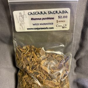 Cascara Sagrada, Rhamnus purshiana, court case spells, sorcery, Conjure Work, herbs, magick, Golden Dawn, Solomonic, Wicca, astrology