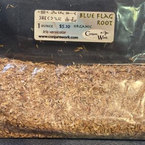 Blue Flag Root, Iris versicolor, sorcery, Conjure Work, herbs, magick, Golden Dawn, Solomonic, Wicca, astrology
