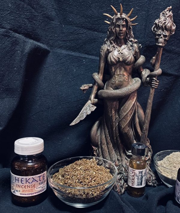 Hekate Incense; Queen of all Witches; Titan, Conjure Work, supplies for spells,