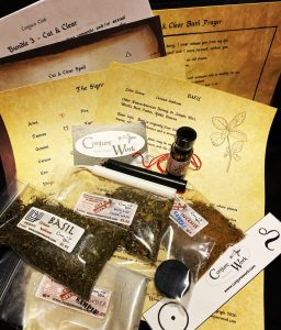 Bundle #3, Cut & Clear, Conjure Club, spell kit subscription service