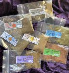 Planetary Incense Sampler; seven Planetary blends of Conjure Incense