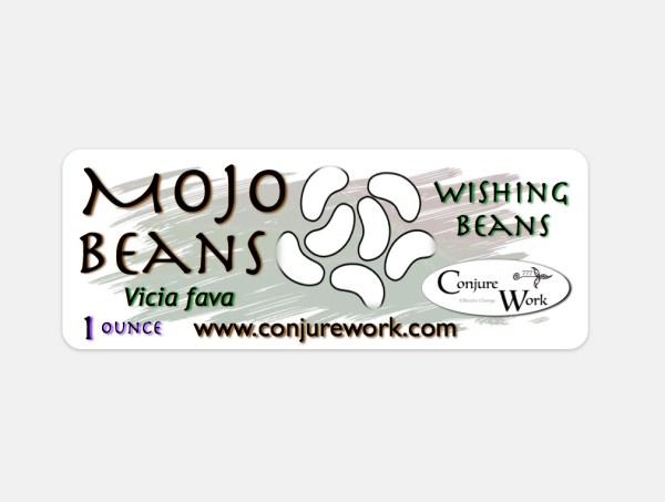 Mojo Beans - Vicia fava - wishing beans