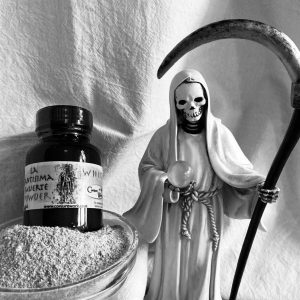 La Santisima Muerte Powder, White