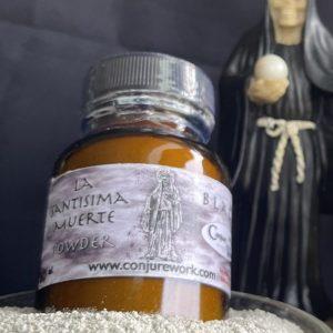 La Santisima Muerte Powder, Black