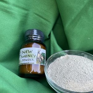 doo style powder for drawing new sources of money; Sun and Venus herbs