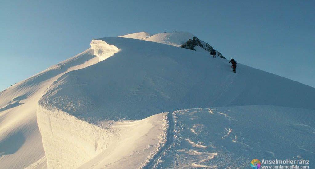 Arista de los Bosses - Mont Blanc