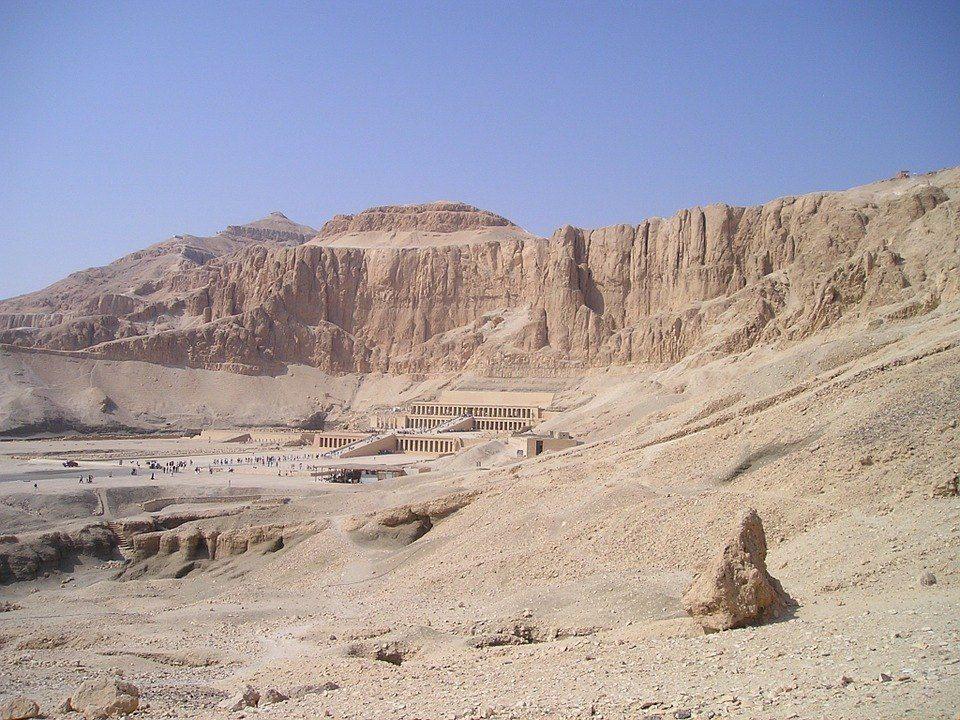 Templo de Hatshepsut - Valle de los Reyes - Egipto