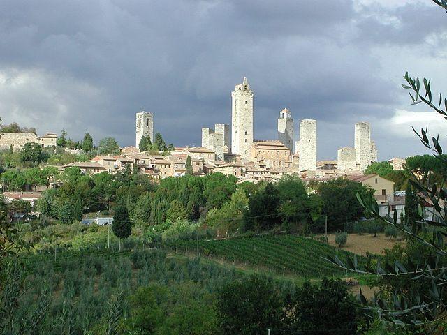 San Gimignano - Italia - Foto: Wikipedia