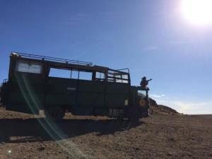 Camion Safari - Autor: Marta García
