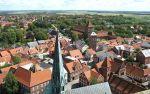 Ribe visto desde una de las torres de la catedral - Foto: Wikipedia (Hubertus45)