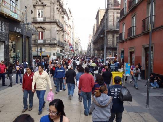 Avd. Francisco I Madero, México DF