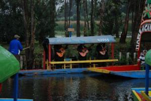 Mariachis en trajinera - Xochimilco