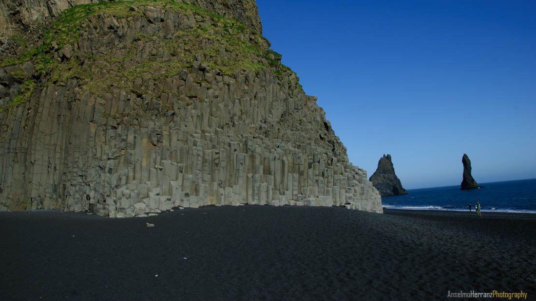 Playa de Reynisfjara . Islandia