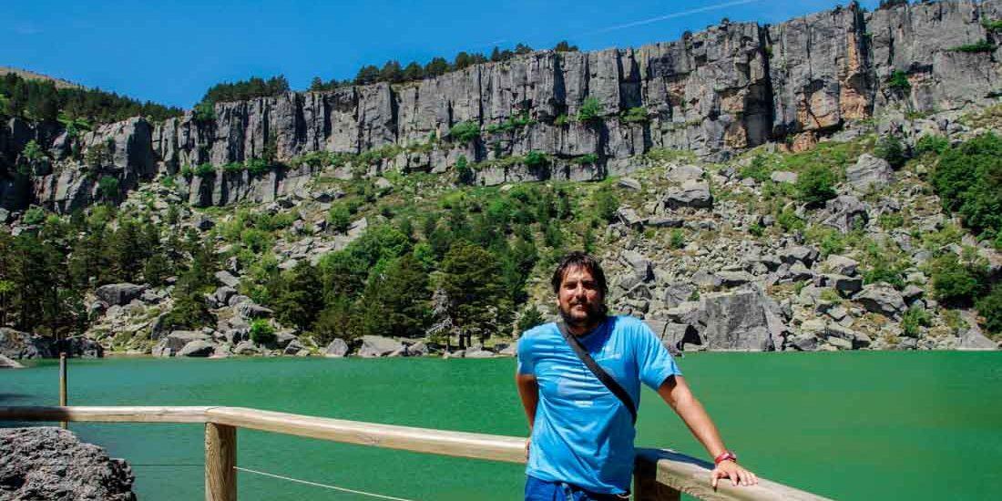 Posando en la Laguna Negra - Soria