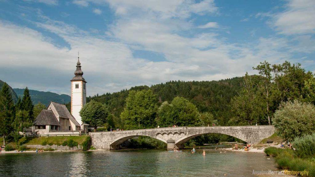 Bohinjsko Jezero -Lago de Bohinj - Eslovenia