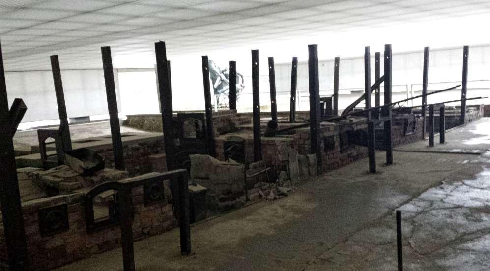 Hornos - Estacion Z - Sachsenhausen