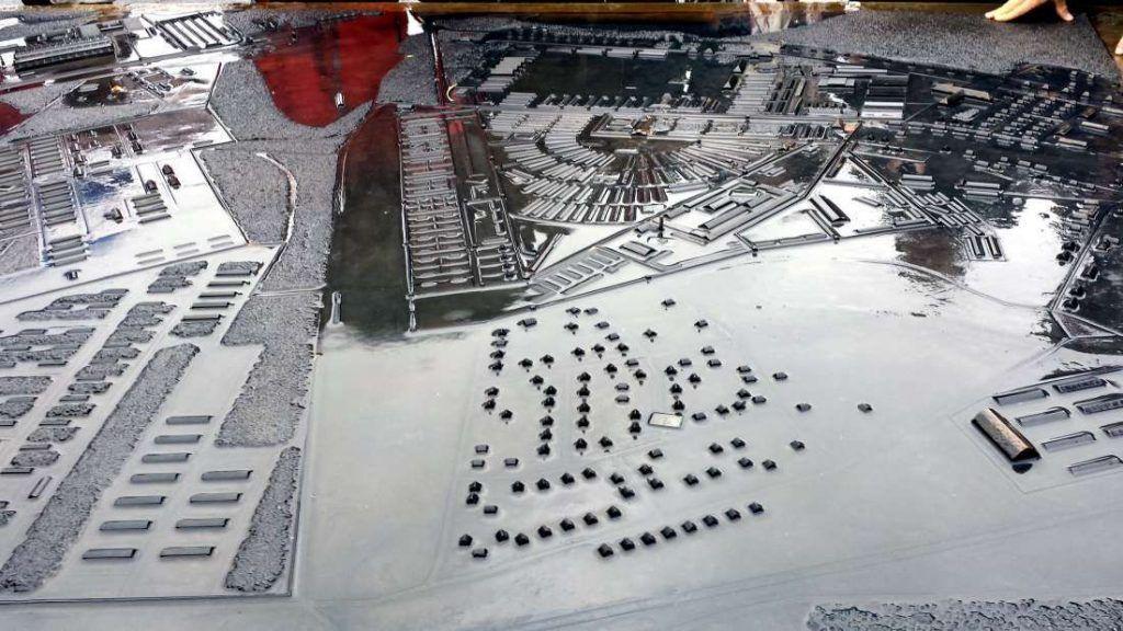 Maqueta Campo de Concentración de Sachsenhausen