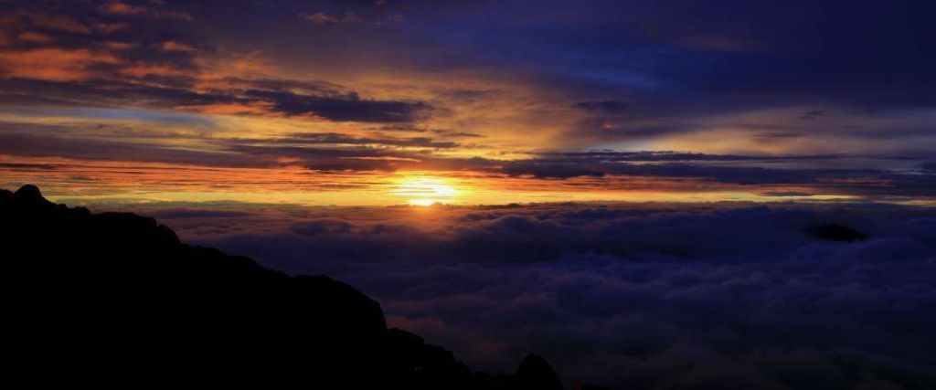 Panoramica Puesta de Sol desde Acatenango - Guatemala