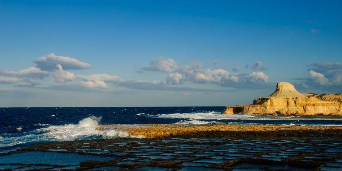 Las Salinas de Qbajjar - Isla de Gozo - Malta