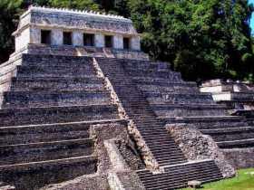 Templo de las inscripciones - Palenque - Chiapas - México