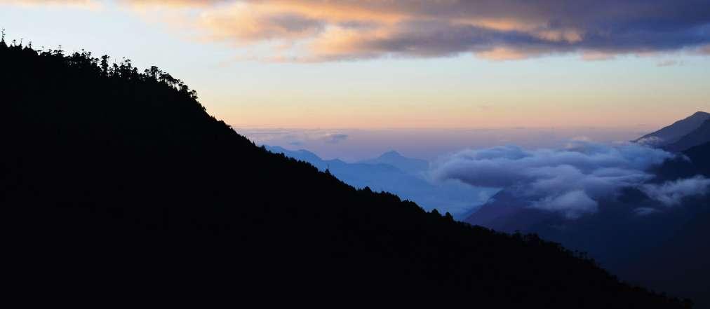 Trumshingla National Park - Bután