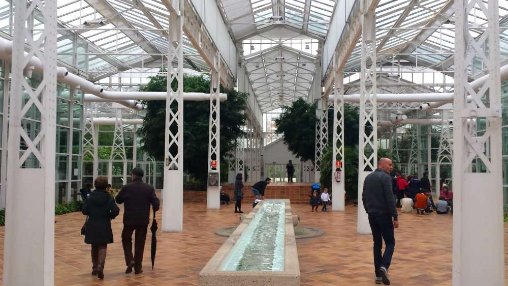 Visita al museo invernadero del palacio de cristal de - Invernaderos de cristal ...