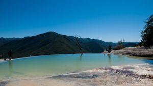 Piscinas de Hierve El Agua - Oaxaca - México