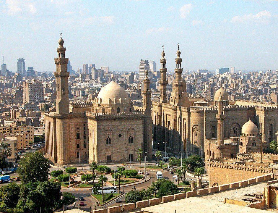 Mezquita en el Cairo - Egipto