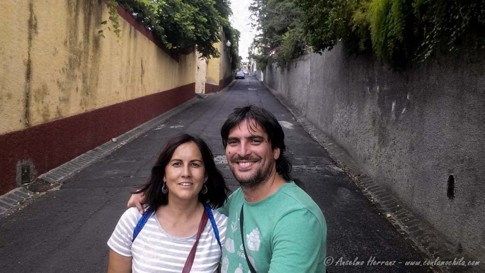 Bajando desde Livramento a Funchal - Madeira