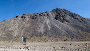 Boveda de lava - Nevado Toluca - México