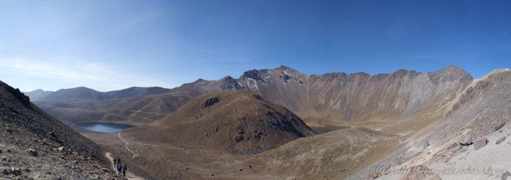 Crater del Nevado Toluca desde la Arista Humboldt - México