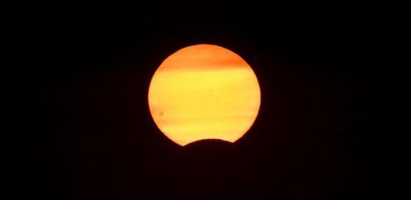 Fotografiando el eclipse de sol de agosto de 2017 – Segovia – España