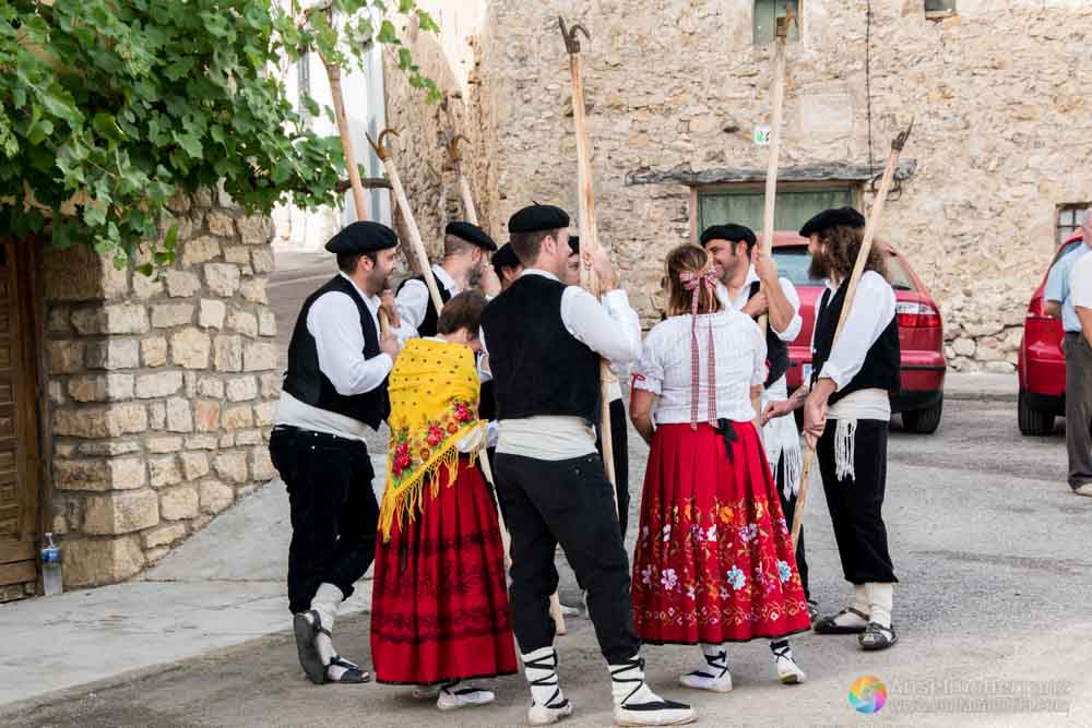 Gancheros y mujeres de Taravilla - Guadalajara