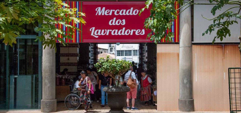 Plaza Mercado dos Lavradores - Funchal - Madeira - Portugal