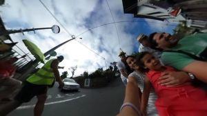 Control de Tráfico en el descenso de los Carreiros do Monte - Funchal, Madeira