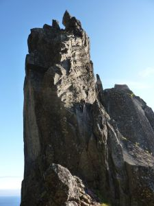 Rapel de descenso - Svolvaergeita - Svolvaer - Noruega