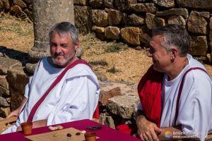 Romanos Jugando en Numancia